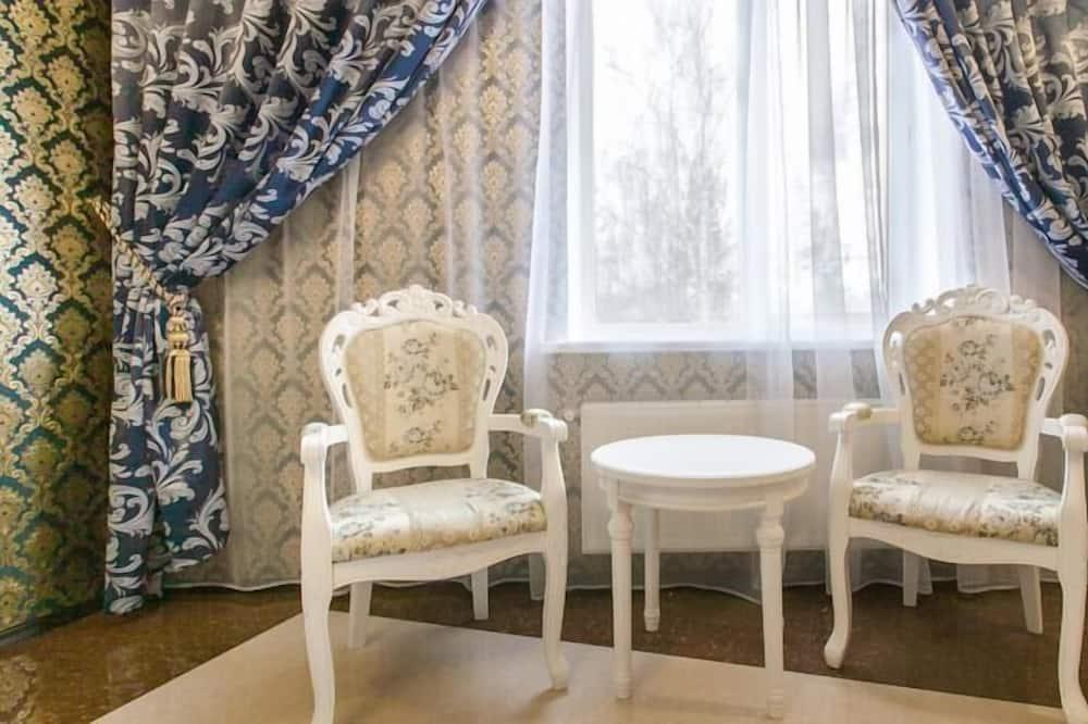 Panoramic Suite, 1 Bedroom, Balcony - Living Area