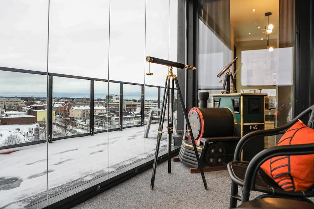 Executive Suite, Balcony, Jetted Tub, Sauna (SJK) - 陽台