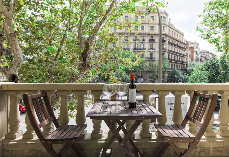 Aspasios Rambla Catalunya Suites, Barcelona, Economy-Apartment, 1 Schlafzimmer, Balkon