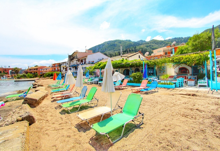 Avra Budget Beach Hotel, Corfu, Praia