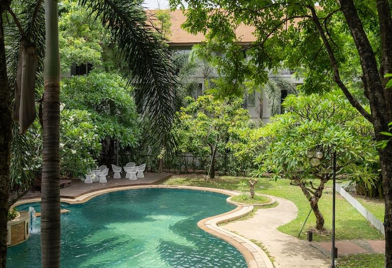 Oun Hotel Bangkok, Bangkok, Superior İki Ayrı Yataklı Oda, Havuz Manzaralı, Oda Manzarası