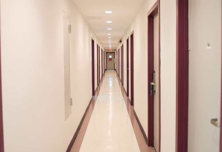 Harlem YMCA, New York, Hallway