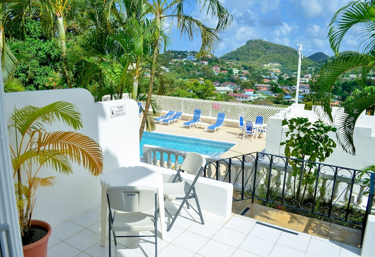Top of the World - North, Gros Islet, Apartment, 1 Bedroom, View from room