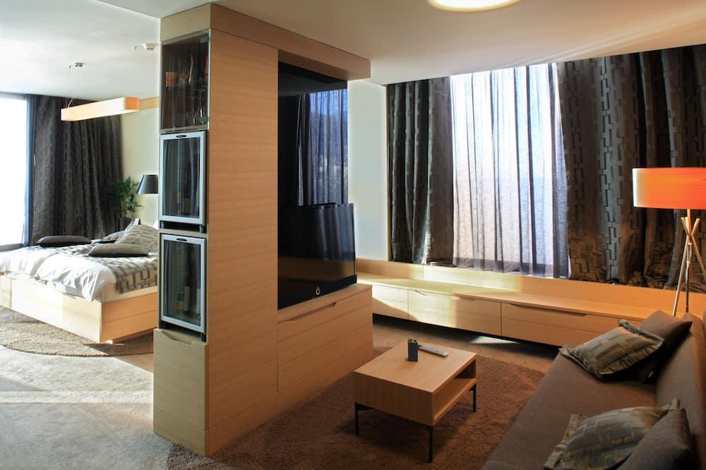 Superior-Suite (Single Use) - Wohnbereich