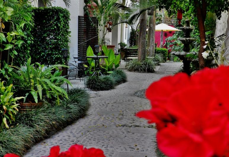 Hotel Rosa Morada Bed and Breakfast, Tlaquepaque, Aspecto interior del hotel