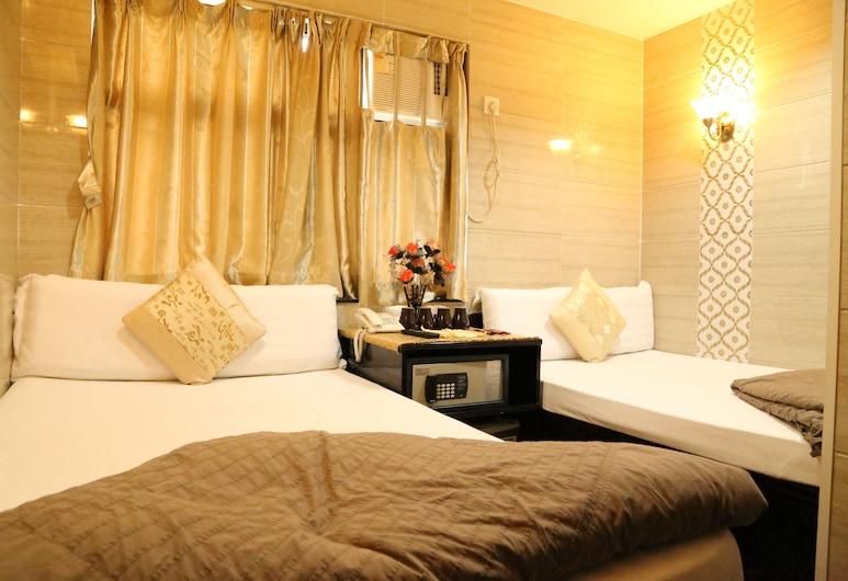 納里旅館, 香港, 家庭客房, 2 張標準雙人床, 客房