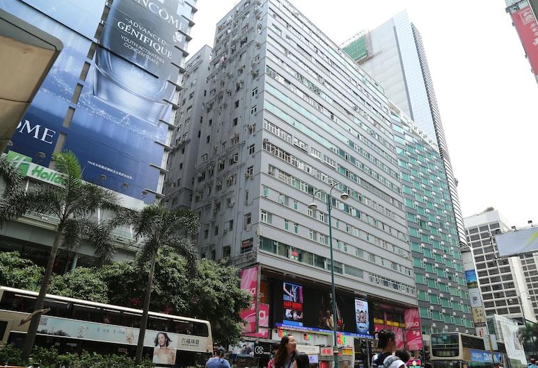 New Tokyo Hostel, Kowloon, Vchod do hotela