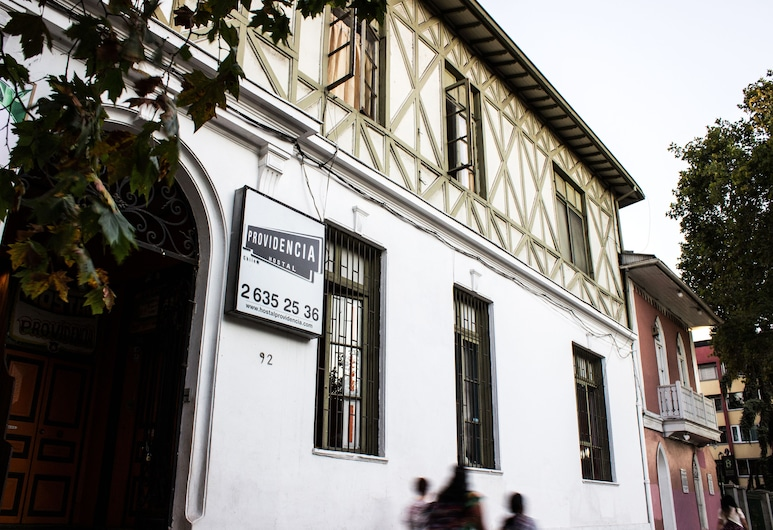 Hostal Providencia, Santiago, Veranda
