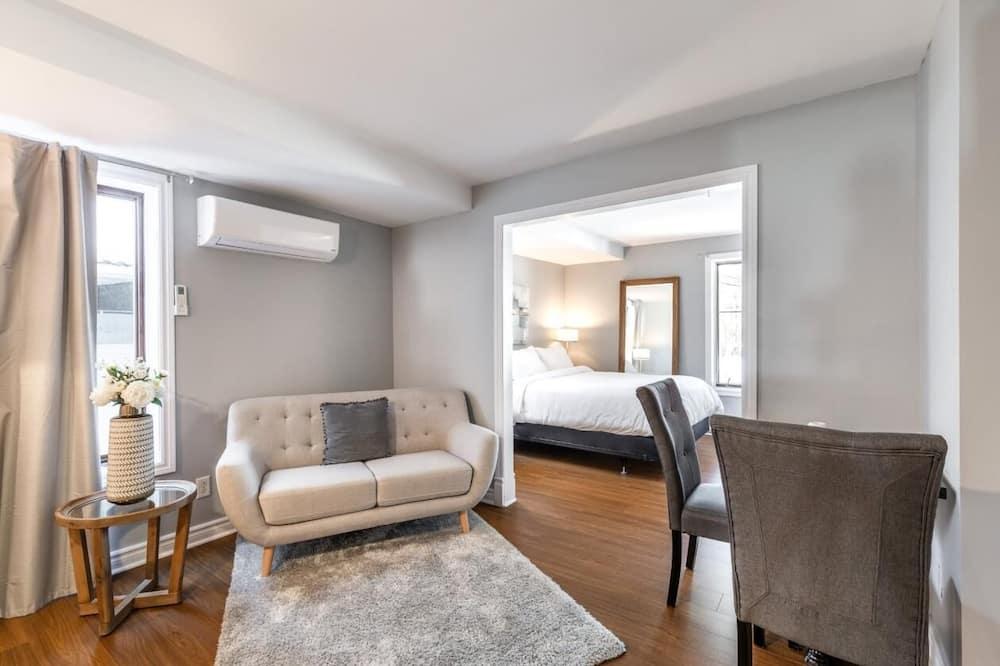 Habitación Confort, 1 cama de matrimonio (2) - Zona de estar