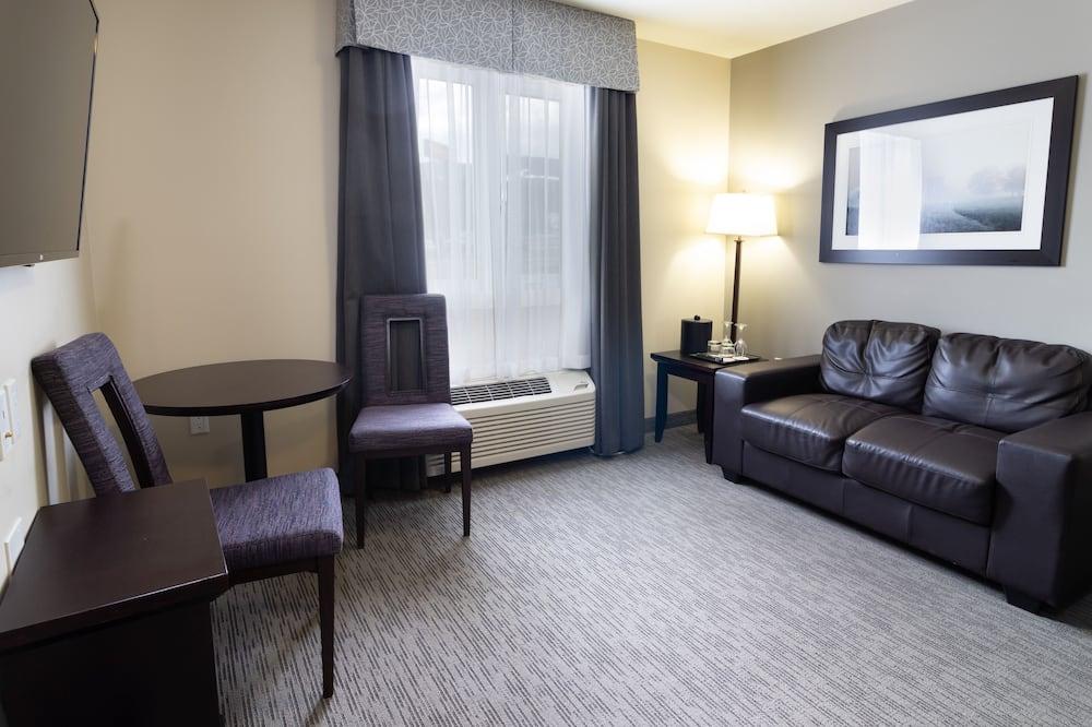 Habitación superior, 1 cama Queen size, cocina básica - Sala de estar