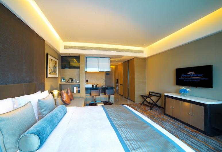 Howard Johnson Jinghope Suzhou, Suzhou, Zimmer, 1King-Bett, Nichtraucher (1 Room), Zimmer