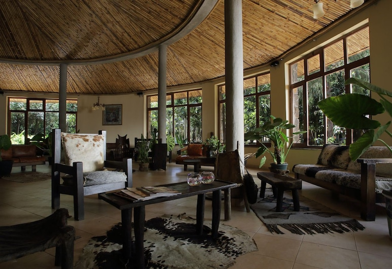 Abay Minch Lodge, Bahir Dar, Siddeområde i lobby