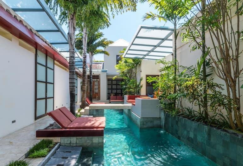 Bali Ginger Suites and Villa, Seminyak, Piscina externa