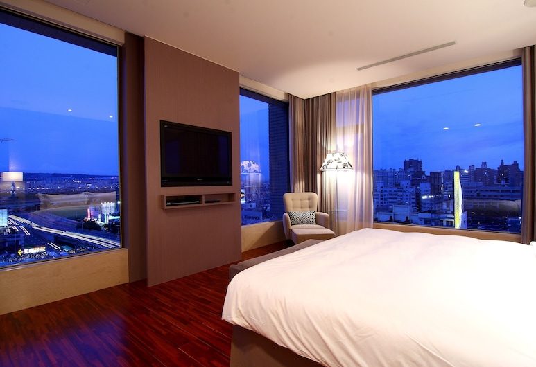 Hung's Mansion, Taichung, Executive Suite, Guest Room View