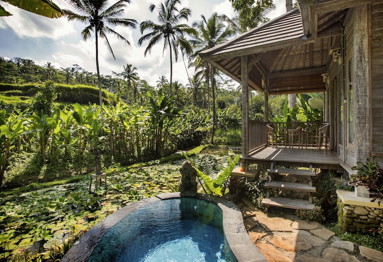 Pondok Sebatu Villa, Sebatu, Vila, 1 miegamasis, atskiras baseinas, vaizdas į slėnį, Svečių kambarys