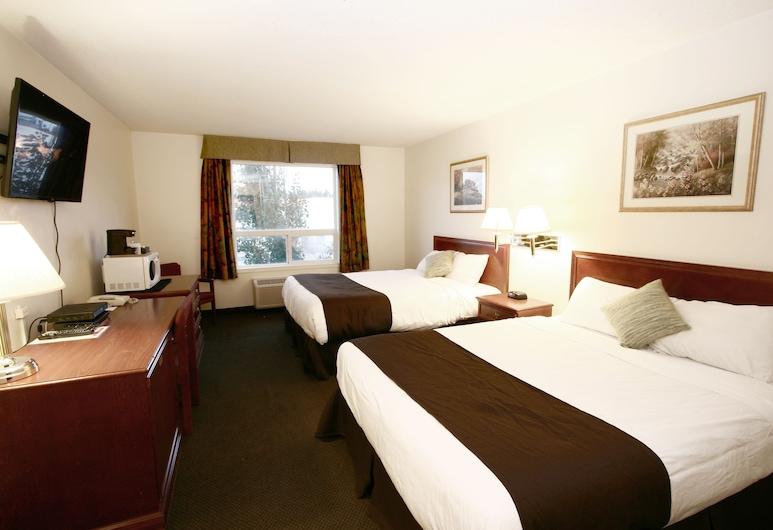 Foxwood Inn & Suites, Drayton Valley, Pokój standardowy, 2 łóżka queen, Pokój