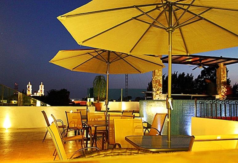 La Aurora Hotel Colonial, Valladolid, Salle de petit-déjeuner