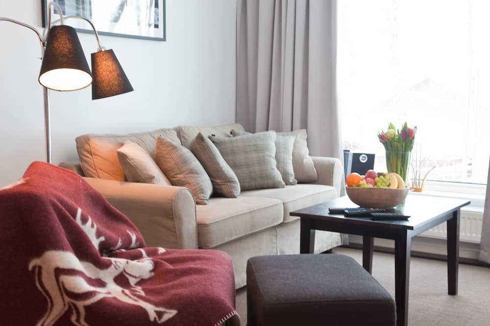 Rostberget 78, 2 bedrooms, Pets allowed (bed linen and housekeeping not included) - Sala de estar