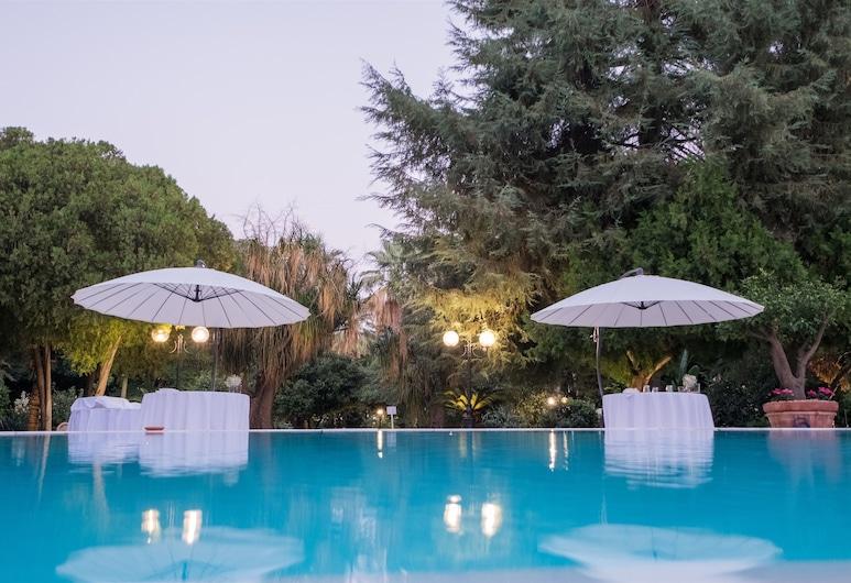 帕可德佛坦尼酒店, 敘拉古, 室外泳池