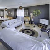 Vila, 4 spálne, súkromný bazén - Obývačka