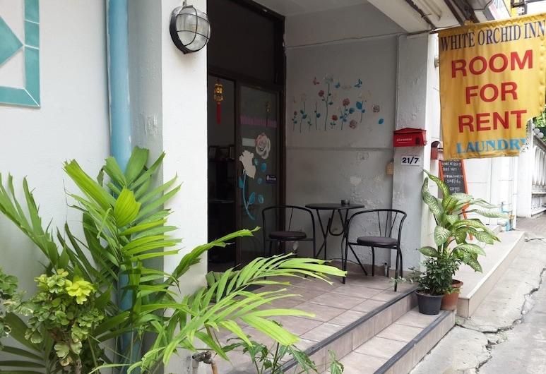 ホワイト オーキッド イン, バンコク, ホテル エントランス