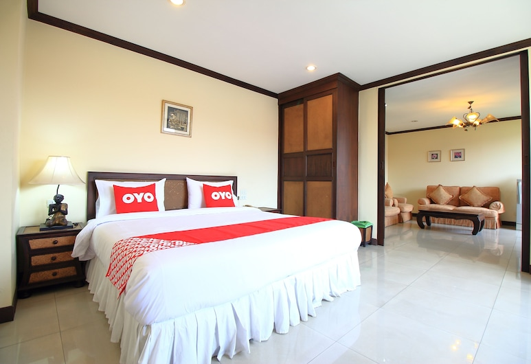 OYO 471 Sunshine Apartment, Bangkok, Standard Double Room, Guest Room