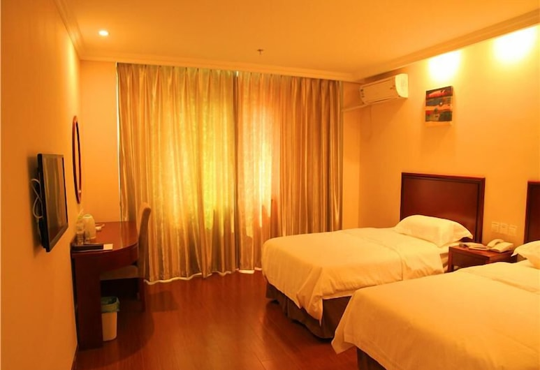 GreenTree Inn Beijing East Yizhuang District Second Kechuang Street Express Hotel, Beijing, Guest Room