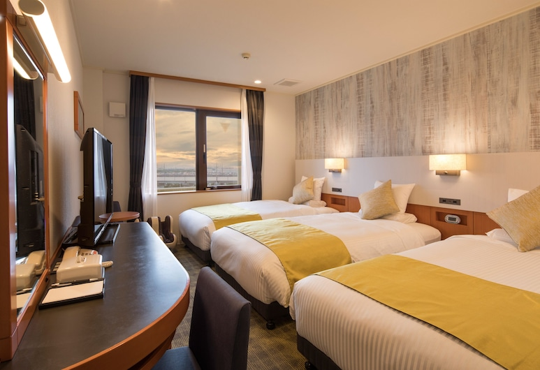 Hotel MyStays Maihama, Urayasu, Pagerinto tipo trivietis kambarys, Nerūkantiesiems (Eco Plan No Linen Services), Svečių kambarys