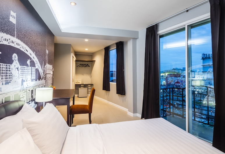 @ Hua Lamphong Hotel, Bankokas, prabangus dvivietis kambarys, Svečių kambarys