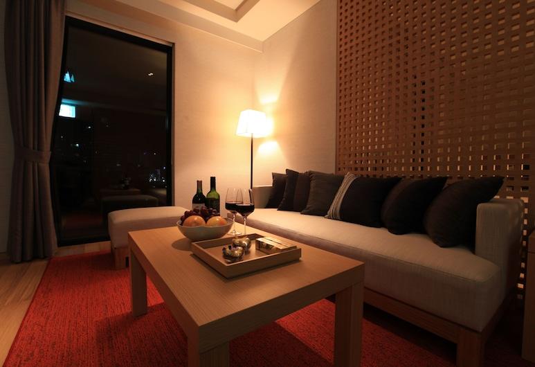 博爾若米首爾精品飯店, 首爾, 套房 (Spa ), 客廳