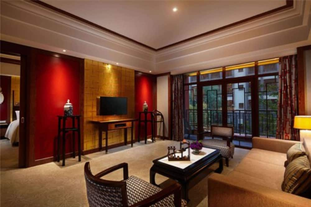 חדר נשיאותי, מיטת קינג - אזור מגורים