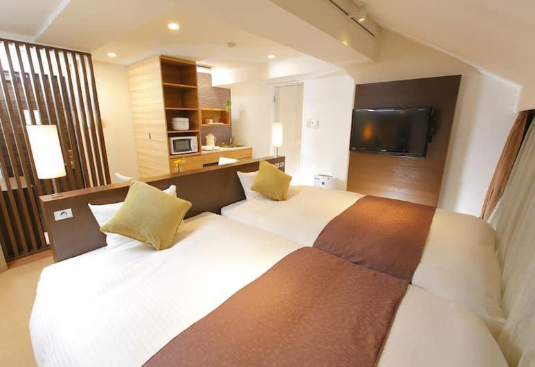 Flexstay Inn Iidabashi, Tokyo, Deluxe Twin Room, Non Smoking (No elevator), Room