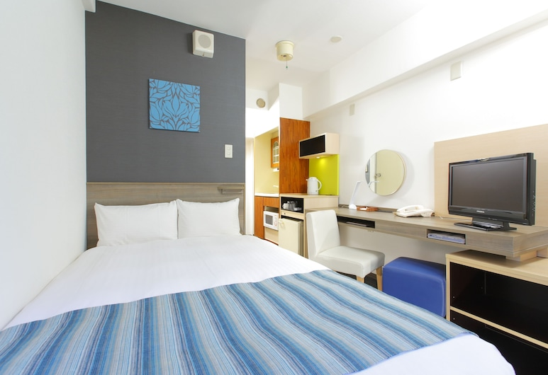 Hotel MyStays Ueno Inaricho, Tokyo, Standard Double Room with Small Double Bed (1 Semi Double bed) - Smoking, Room