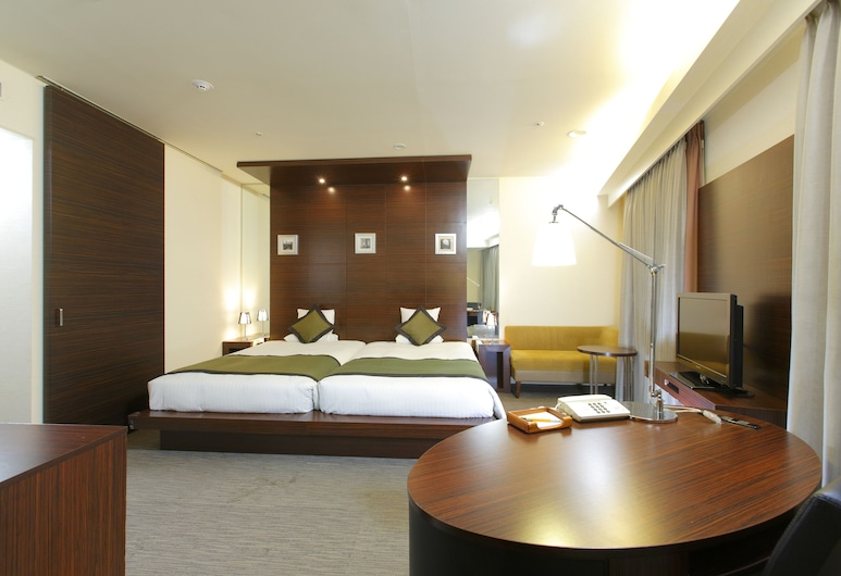 Hotel MyStays Ochanomizu Conference Center, Tokyo, Grand Deluxe Twin Non Smoking, Late Check Out By Noon, Guest Room