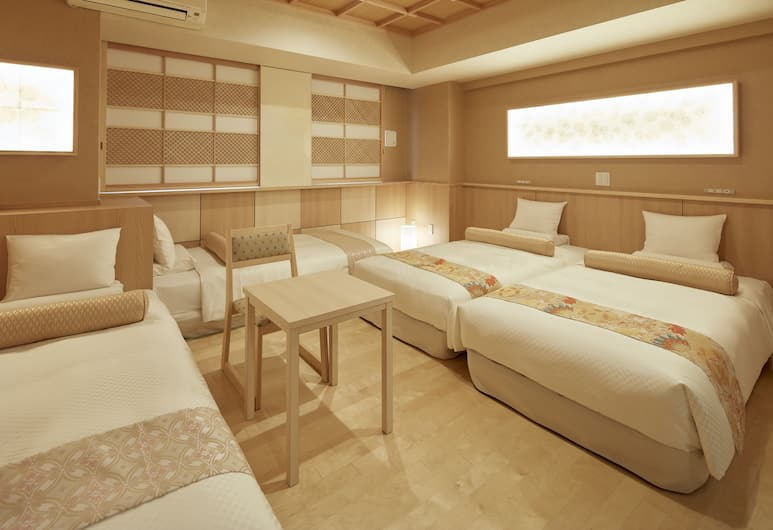 Hotel MyStays Asakusa-bashi, Tokyo, Japanese Modern Fourth, Non Smoking (3 single beds and 1 sofa bed), Guest Room