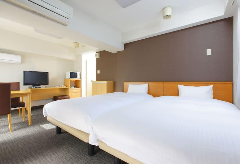 Flexstay Inn Shirogane, Tokyo, Standard Twin Room, Smoking, Kitchenette, Room