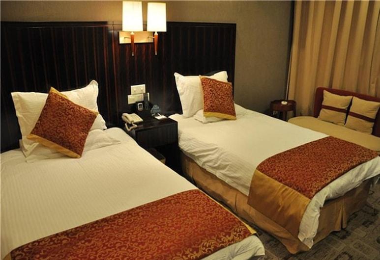GreenTree Inn Xuzhou Railway Station Hotel, Xuzhou, Standardna Twin soba, Soba za goste