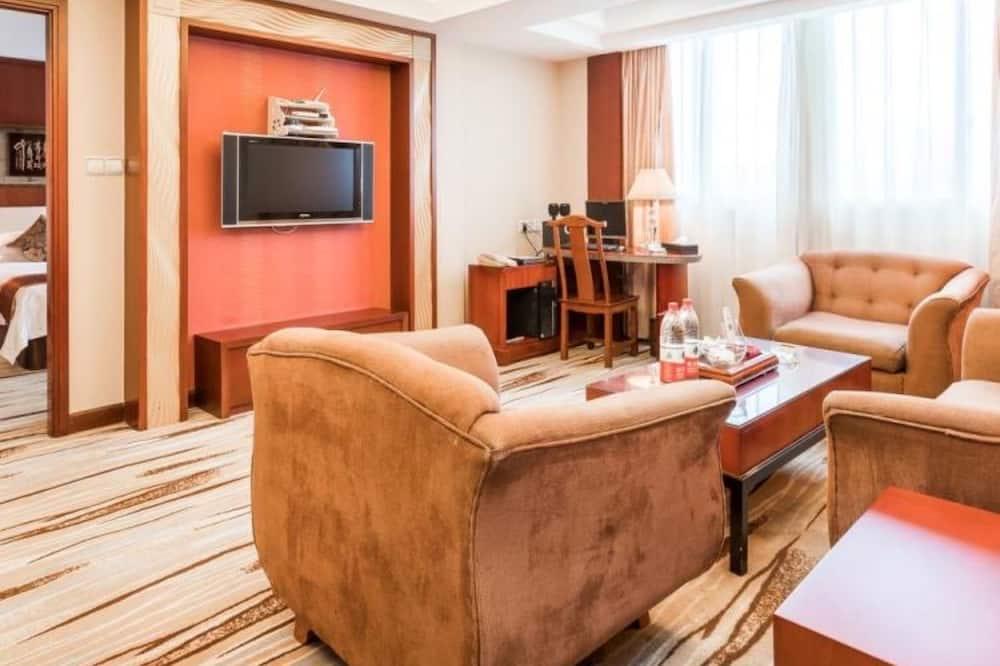 Luksusa numurs ar galeriju - Dzīvojamā istaba