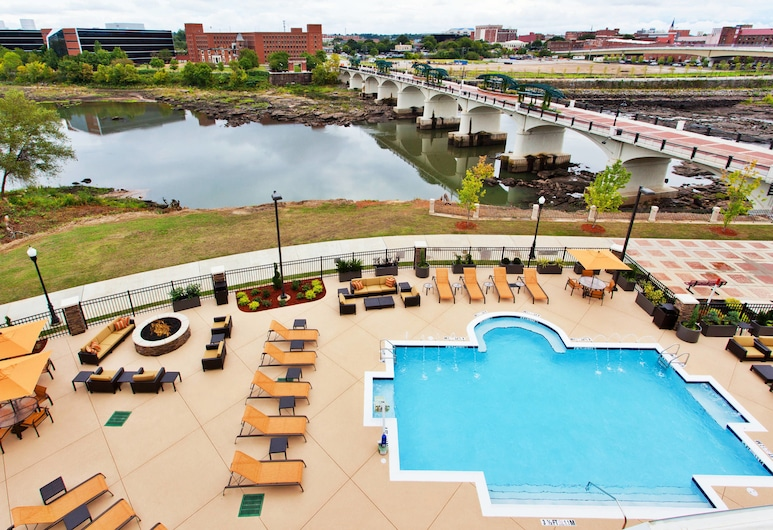 Courtyard by Marriott Columbus Phenix City, Phenix City, Room, 2 Queen Beds, Non Smoking, River View, Guest Room View
