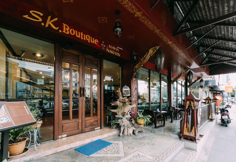 SK Boutique Maha Nakhon, Bangkok, Hotel homlokzata
