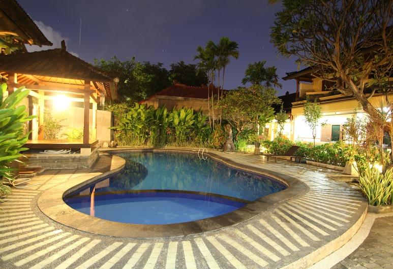 Paradiso Beach Inn, Kuta, Vonkajší bazén