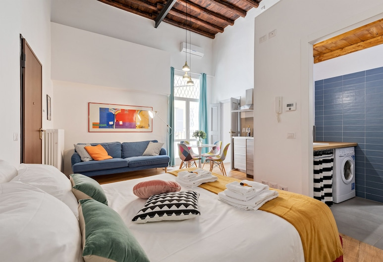 Rome as you feel - Nazionale Apartments, Rome, Appartement Design, 1 chambre, Chambre