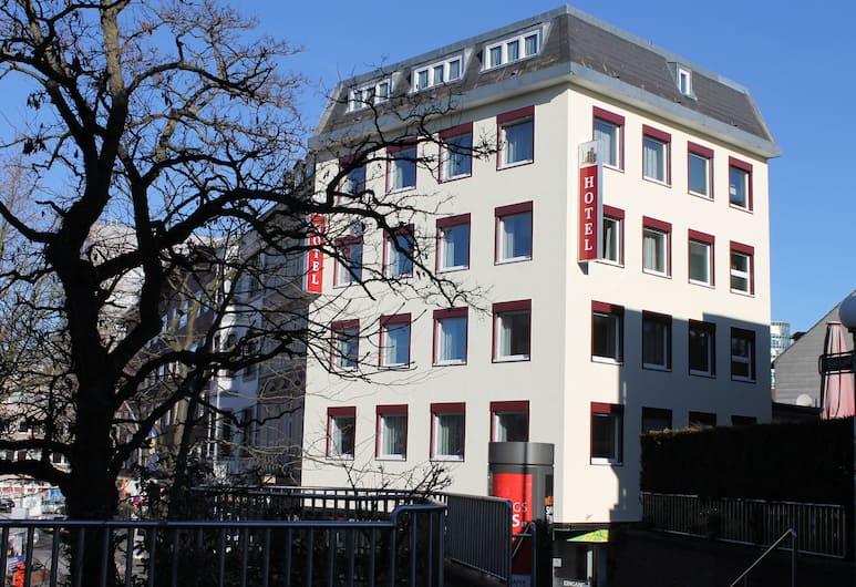 Apartment Hotel am Sand, Hamburgas, Apgyvendinimo įstaigos fasadas