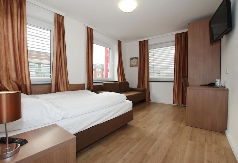 Apartment Hotel am Sand, Hamburg, Standard Double Room, Guest Room
