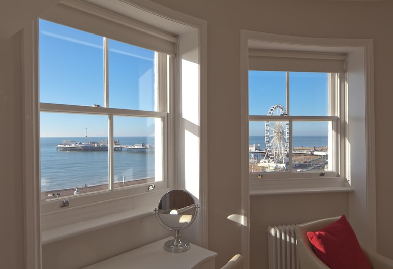 A Room With A View, Brighton, Signature Room, 1 King Bed, Sea View (King), Guest Room View