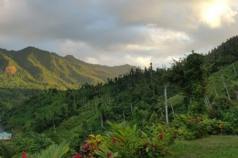 Студія, з видом на гори - Вид з балкона