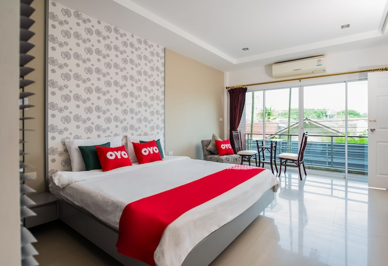 OYO 301 Sivana Place, Choeng Thale, Deluxe Double Room, Guest Room