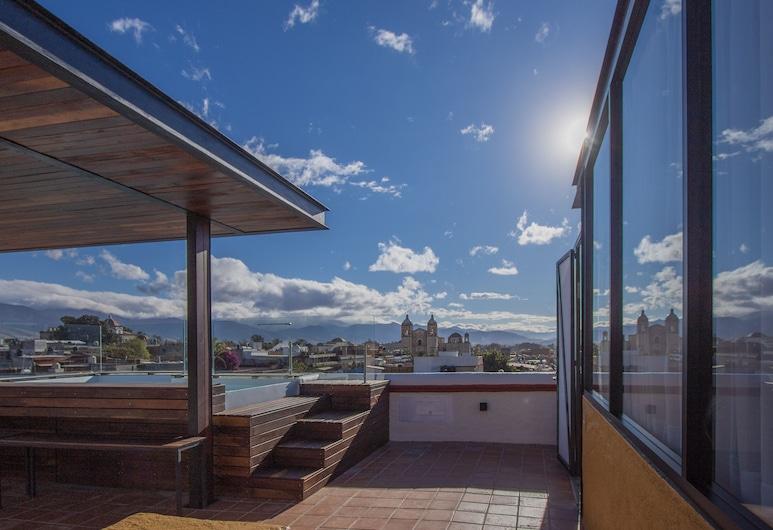 Hotel Casa del Sótano, Oaxaca, Poolside Bar