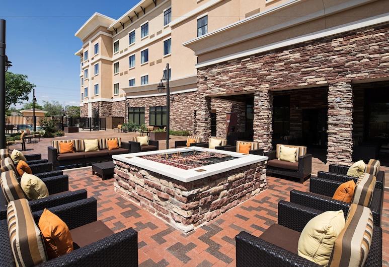 Courtyard by Marriott Lubbock Downtown/University Area, Lubbock, Terrace/Patio