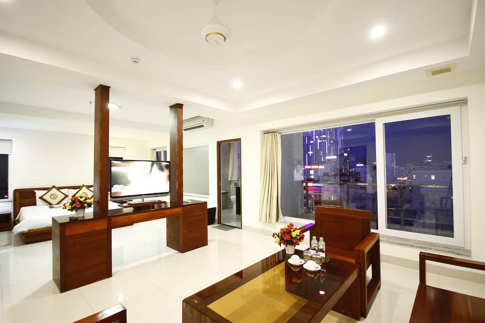 Apartmá, výhled na město - Pokoj